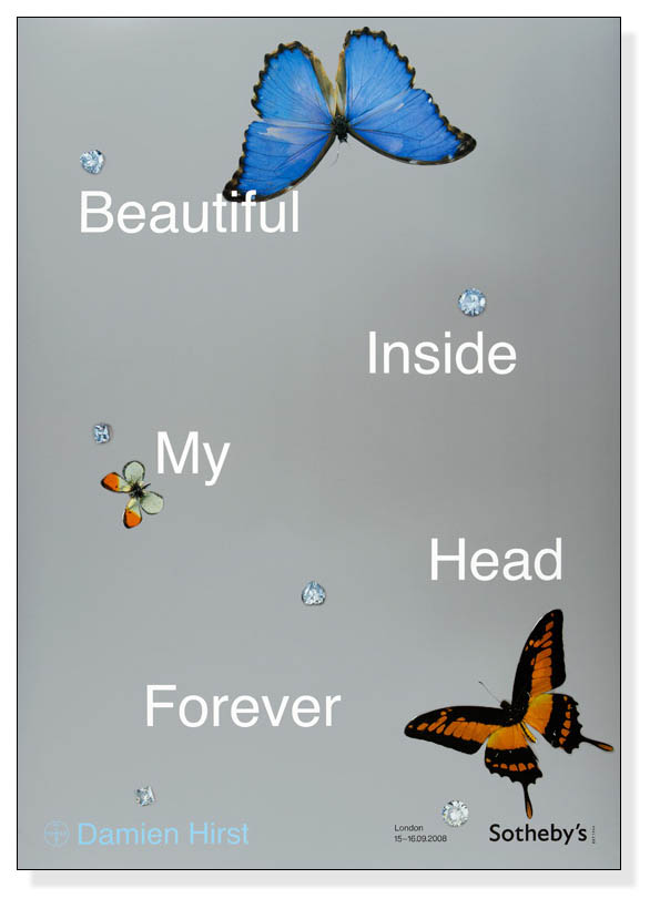 Beautiful Inside My Head Forever(ダミアン ハースト)【f】