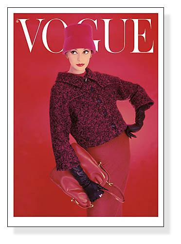 Vogue Rose Red August 1956(ヴォーグ)
