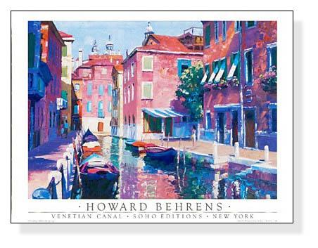 Venetian Canal(ハワード バーレンズ)【f】