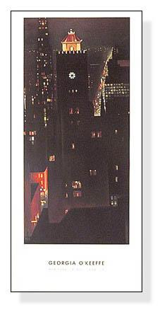New York Night(ジョージア オキーフ)【f】