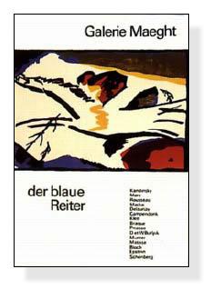 Der blaue Reiter(ワシリー カンディンスキー)