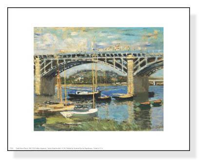 Bridge at Argenteuil(クロード モネ)【f】