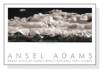 Mt. McKinley Range (エンボスマーク入)(アンセル アダムス)【f】