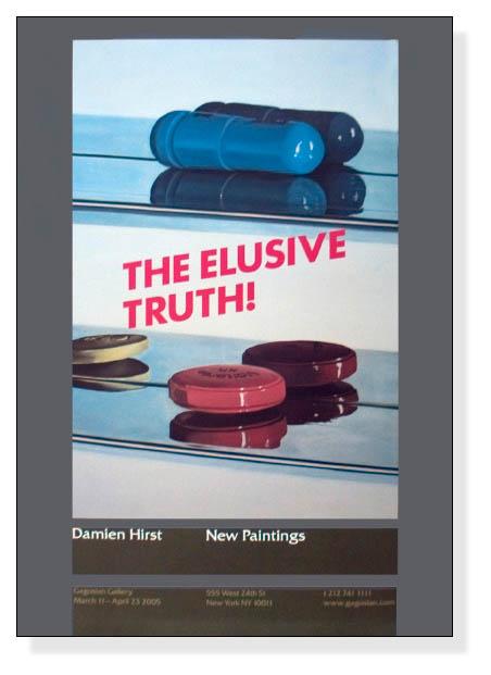 The Elusive Truth Two Pills 限定1000枚(ダミアン ハースト)【f】
