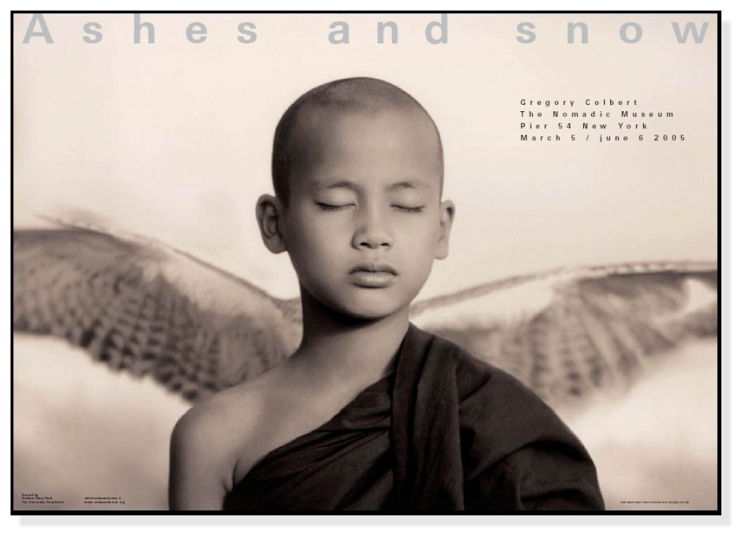 Ashes and snow ニューヨーク Winged Monk(グレゴリー コルベール)【f】