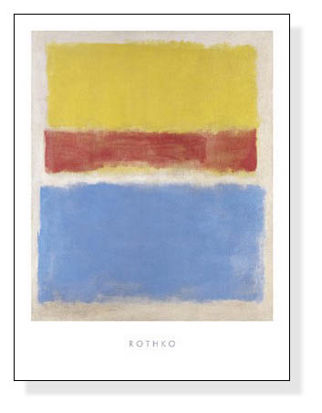 Untitled (Yellow Red and Blue)(マーク ロスコ)【f】
