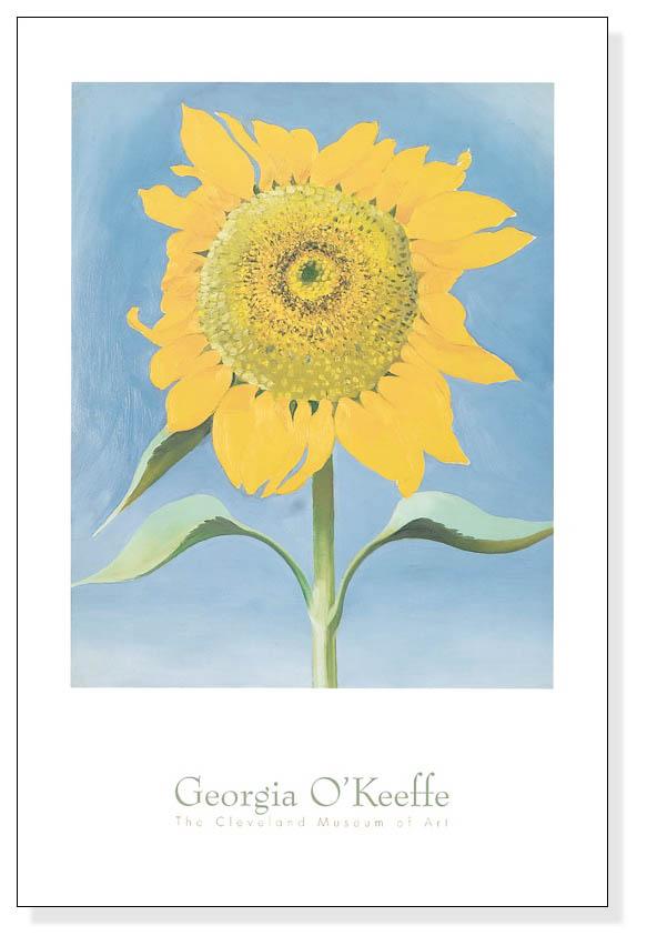 Sunflower New Mexico 1935(ジョージア オキーフ)【f】