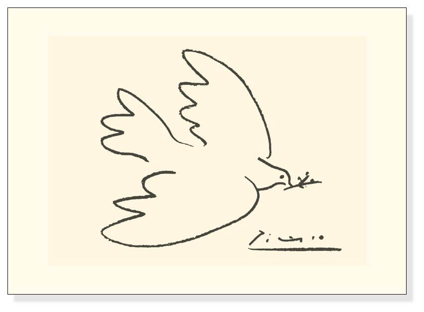 平和の鳩(パブロ ピカソ)【f】