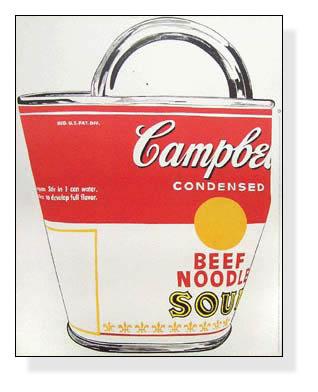 キャンベルスープ缶(アンディ ウォーホル)【f】