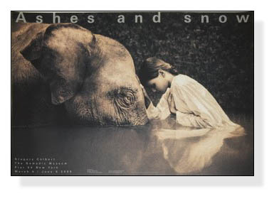Ashes and snow girl with elephant(グレゴリー コルベール)【f】