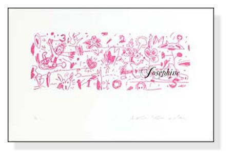 Josephine  限定80枚 サイン ナンバリング入(黒田 アキ)