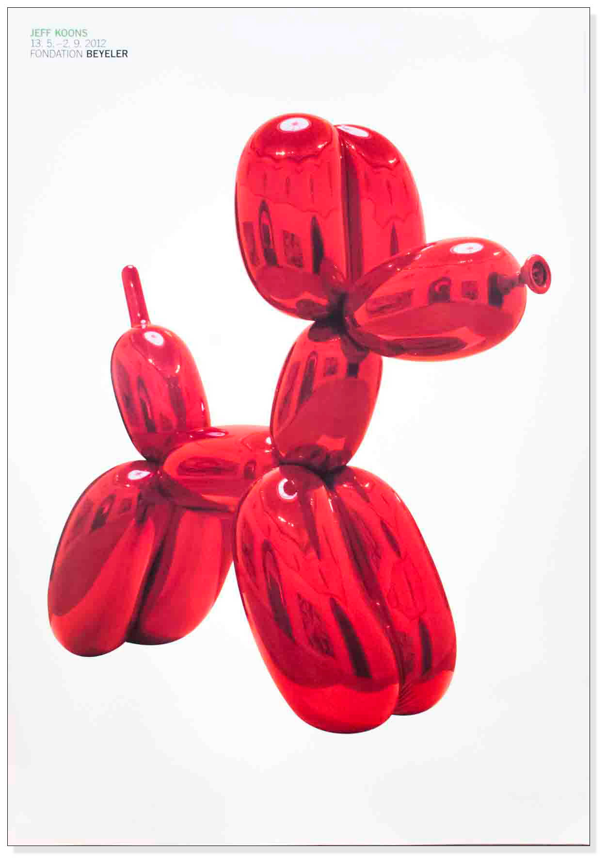 Balloon Dog (Red) 2012(ジェフ クーンズ)