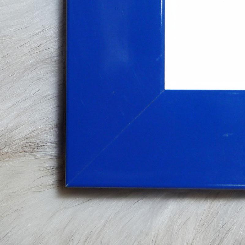 フラットフレーム(ブルー)