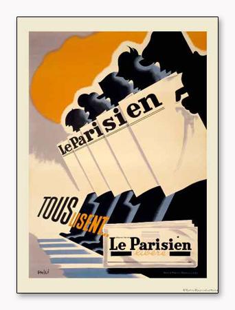Le Parisien(アーティスト不明)