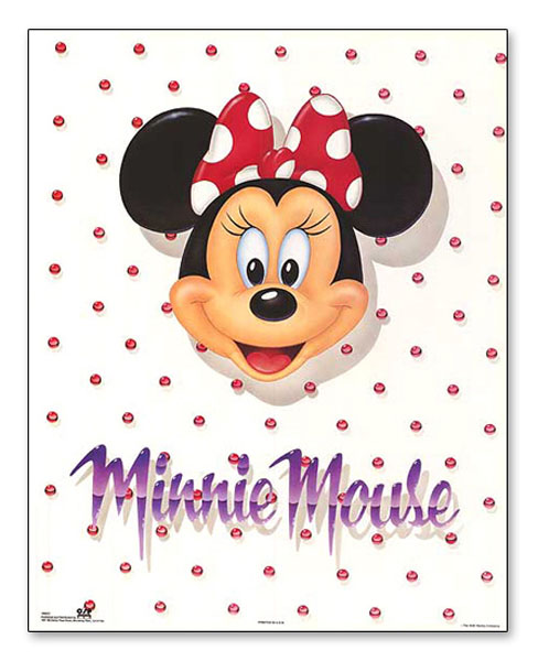 ミニーマウス ポートレート(ディズニー)