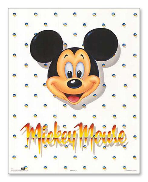 ミッキーマウス ポートレート(ディズニー)