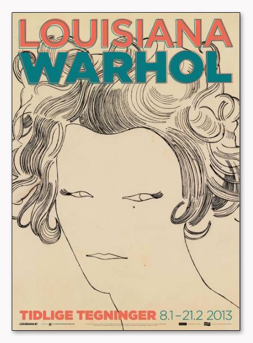 Female Head 1957(アンディ ウォーホル)