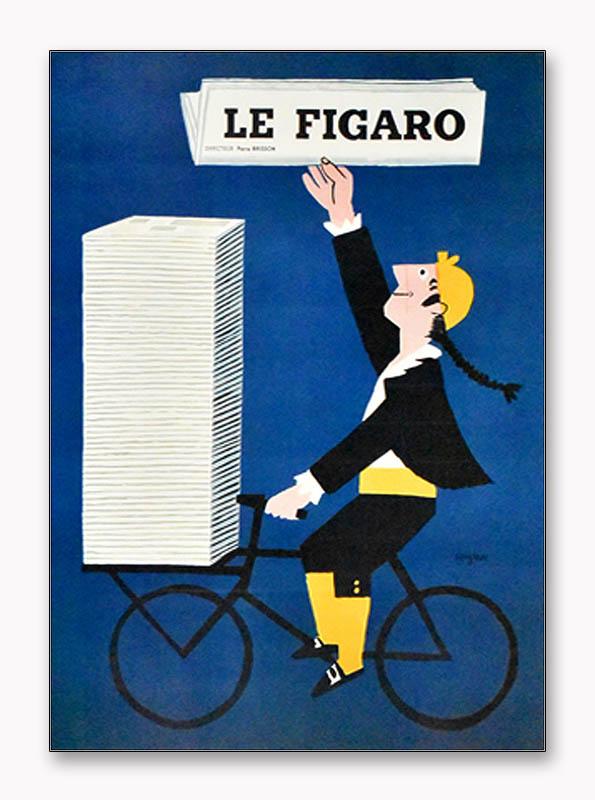 特別額装品/レイモン・サヴィニャック/Le Figaro(レイモン・サヴィニャック)