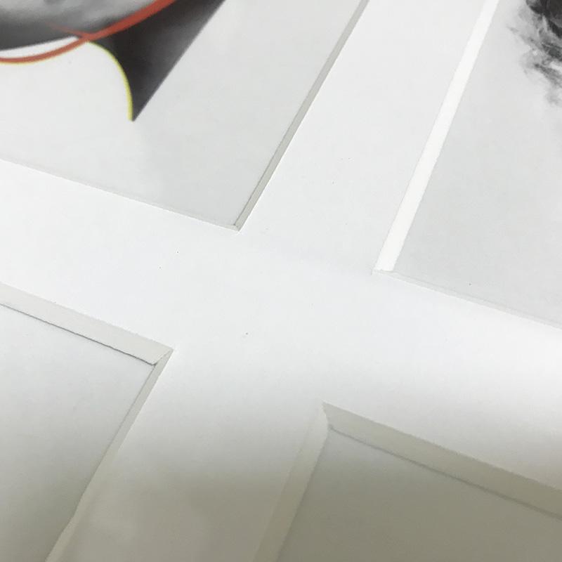 限定マット額装品4セット/Kaws and David Sims【 Kate Moss】(カウズ ブライアン・ドネリー)