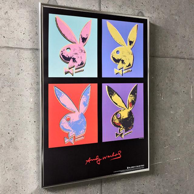 特別額装品/アンディ・ウォーホル  Playboy x4