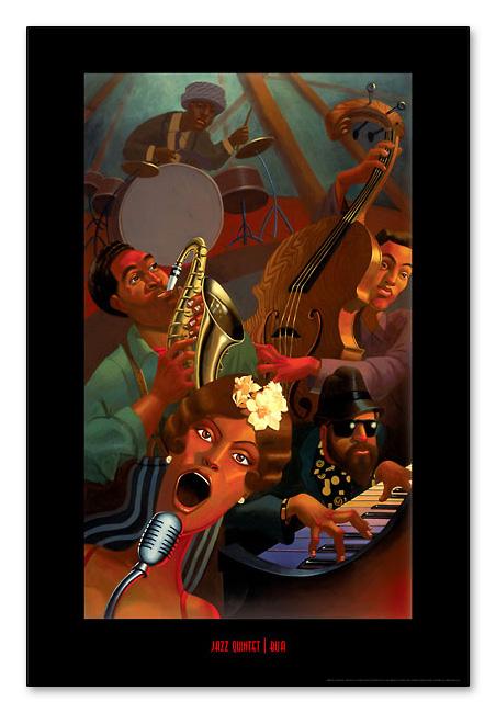 Jazz Quintet(ジャスティン ブア)