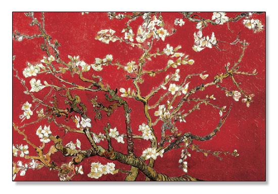 額装済30%OFF/Almond Branches in Tan/フィンセント ファン ゴッホ/ポスター(フィンセント ファン ゴッホ)