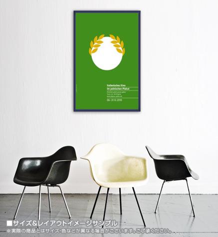 イタリアンフィルム イン ポーランドポスター 限定200枚(ジョアンナ ゴルスカ/イェジ スケイキン)【f】