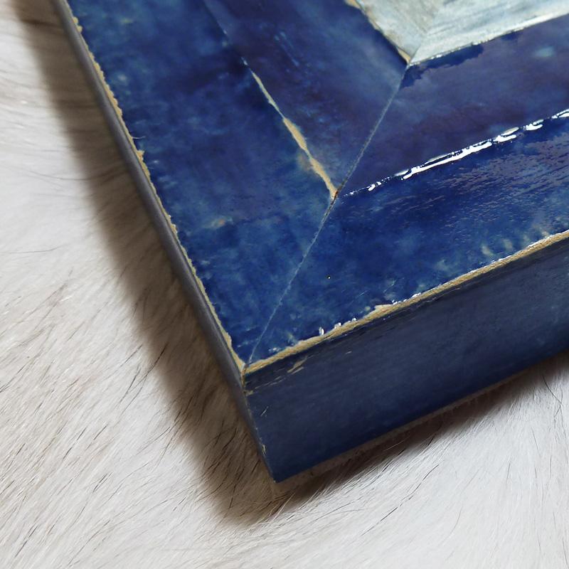 グラスフレーム-B(ブルー)