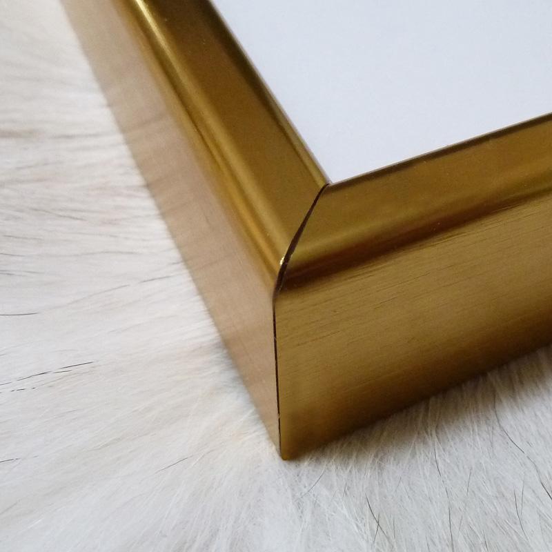 アルミ製ハイグレードフレーム(ゴールド)