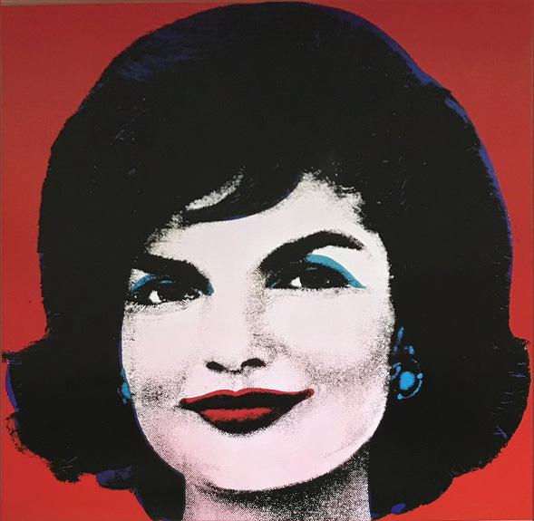 Jackie 1964(ジャクリーン・ケネディ)(アンディ ウォーホル)