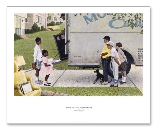 New Kids in the Neighborhood(ノーマン ロックウェル)