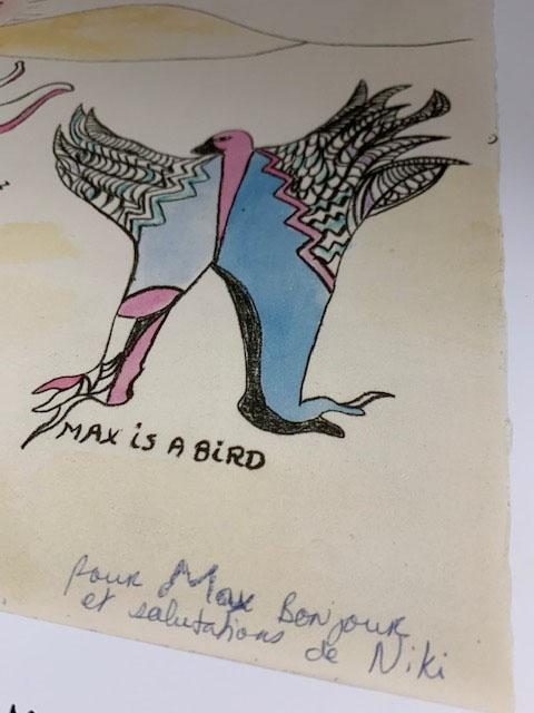 Max is a bird(ニキ ド サンファル)