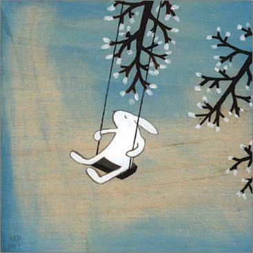 特別額装マット作品/ポスター/パーン/Follow Your Heart- Swinging(クリスティアナ パーン)