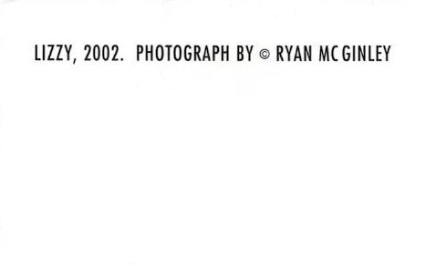 額装品/ライアンマッギンレー/LIZZY/2002(ライアンマッギンレー)