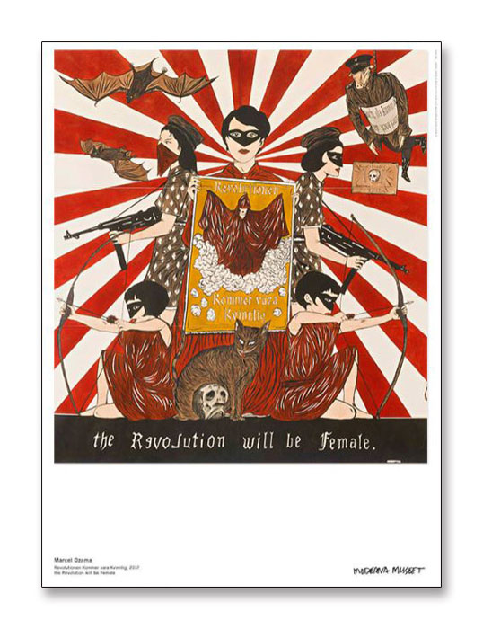 the Revolution will be Female(マルセル ザマ)