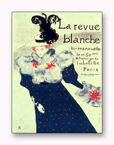 La Revue Blanche 限定2000枚(アンリ ド トゥールーズ ロートレック)