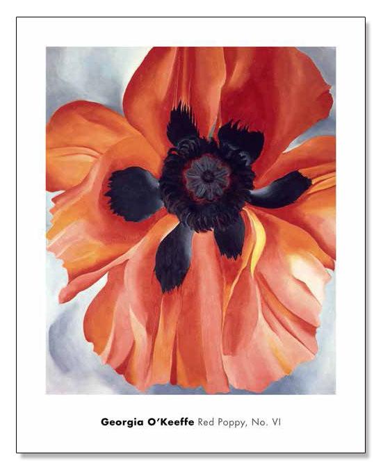 Red Poppy No. VI 1928(ジョージア オキーフ)