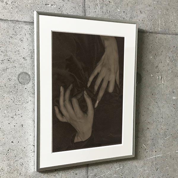 特別額装マット作品/アートポスター/Georgia OKeeffe A Portrait (8) 1919(アルフレッド スティーグリッツ)
