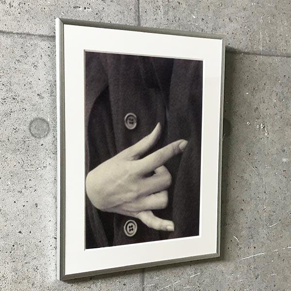 特別額装マット作品/アートポスター/Georgia OKeeffe A Portrait (3) 1918(アルフレッド スティーグリッツ)