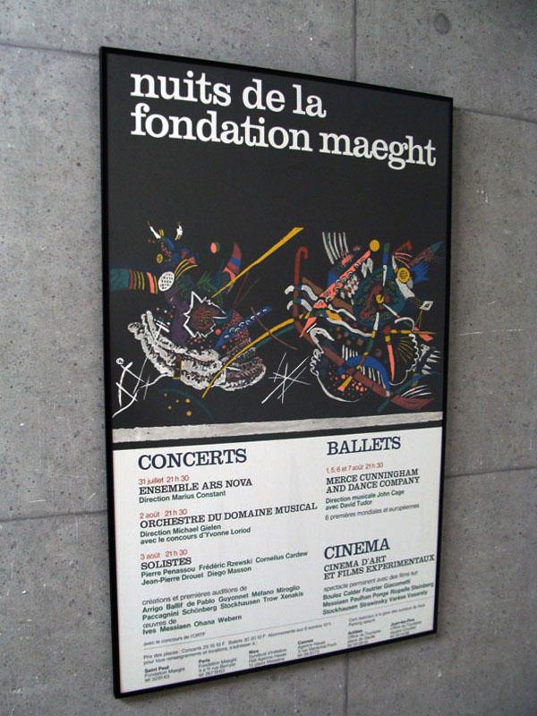 Nuits de la Fondation(ワシリー カンディンスキー)【f】