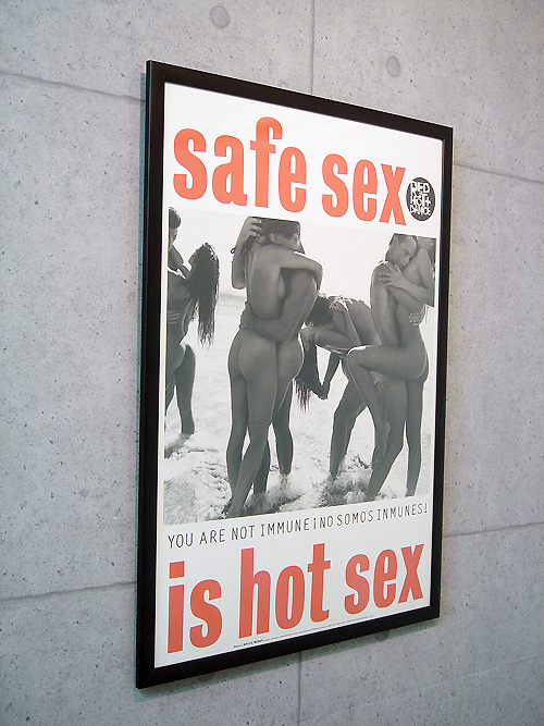 Safe Sex is Hot(ブルース ウェーバー)