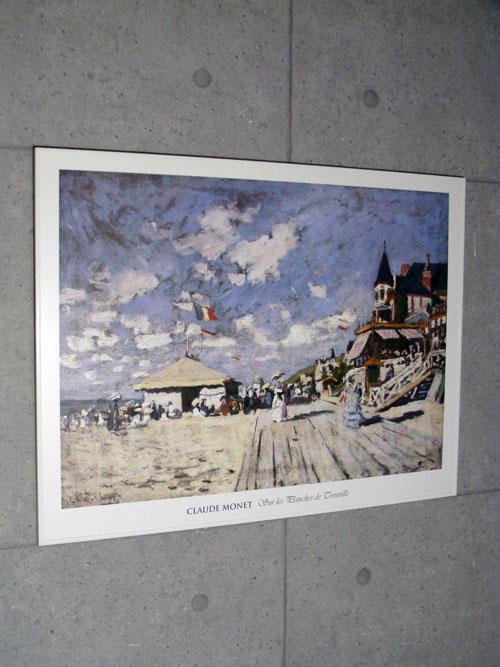 Sur les planches de Trouville(クロード モネ)【f】