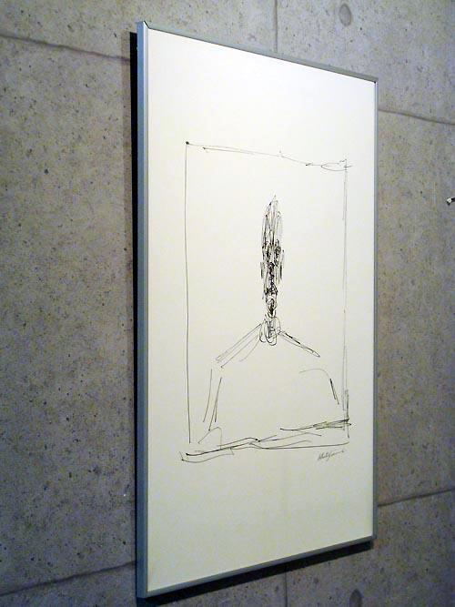 Tete 1950 (dessin)(アルベルト ジャコメッティ)【f】