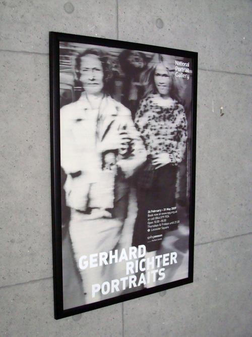 Mutter und Tochter  exhibition(ゲルハルト リヒター)【f】