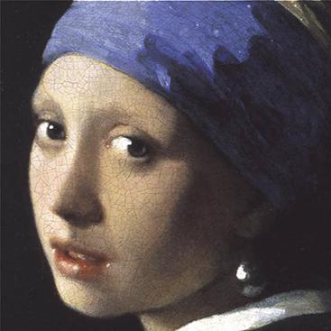 特別額装マット作品/ポスター/フェルメール/真珠の耳飾りの少女(ヨハネス フェルメール)