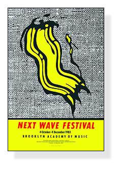 額装済30%OFF/Next Wave Festival/ロイ リキテンスタイン/ポスター(ロイ リキテンスタイン)