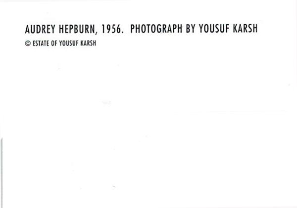 額装品/ユーサフ カーシュ/オードリー・ヘプバーン Yousuf Karsh(オードリー・ヘプバーン)