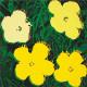 特別額装マット作品/ポスター/ウォーホル/フラワーズ 1970(アンディ ウォーホル)