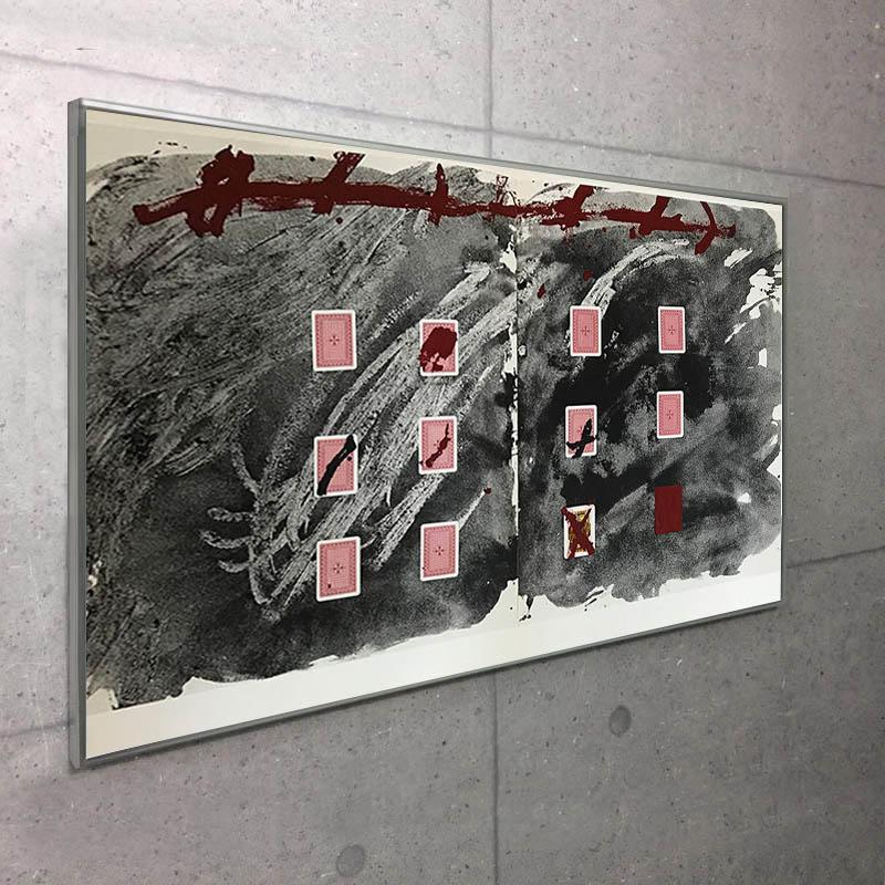 Cartas por la teresa 2 1974(アントニ タピエス)/額装品