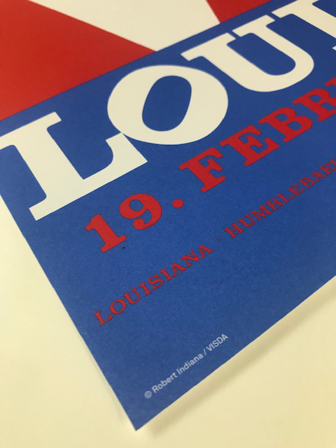 Love louisiana(ロバート インディアナ)